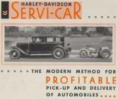 Harley Servi-Car Brochure
