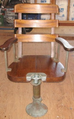 Vintage Fighting Chair