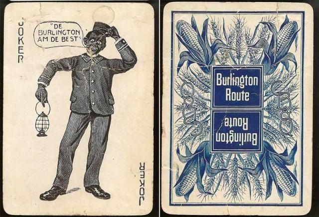 Burlington Railroad Joker